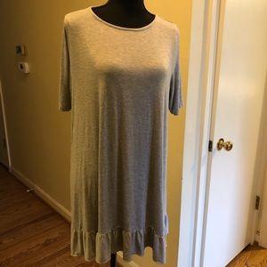 Agnes & dora ruffle bottom shirt xxl